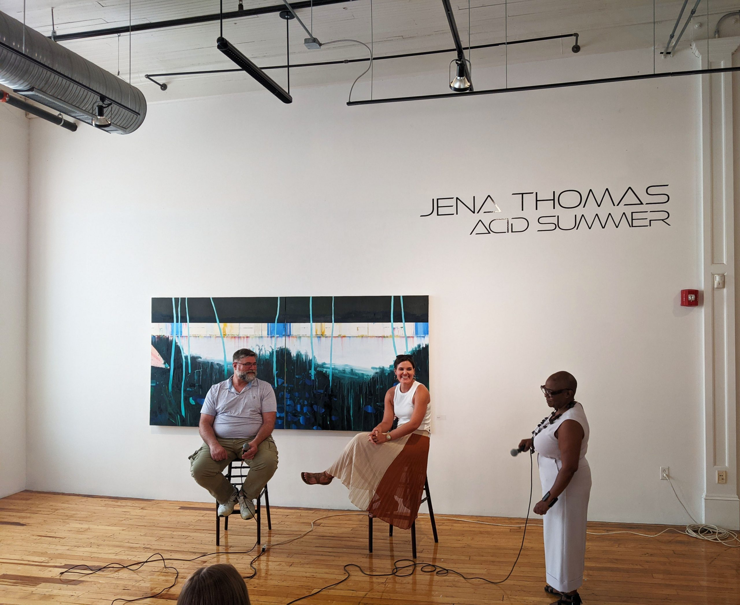 Jena Thomas solo show Acid Summer at 701 Center for the Contemporary Arts